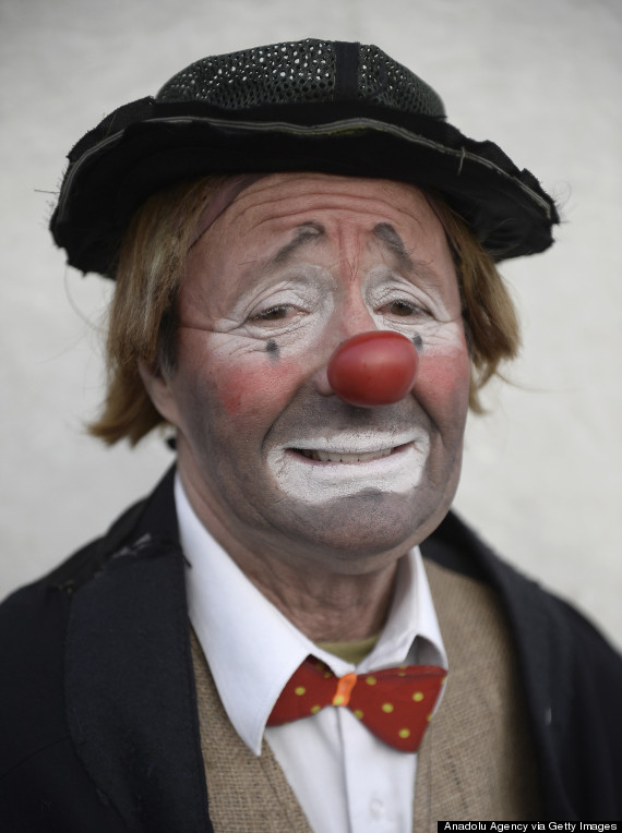 The clown of Milano Circus